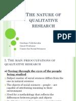 Presentation by Gordana Velizkovska - Qalititaive Research