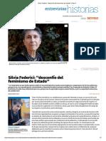 Opcional Silvia Federici_ _desconfío Del Feminismo de Estado_ _ Plan V