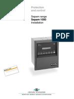 SEPAM1000 Installation