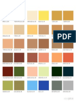Carta Colores Reveliso