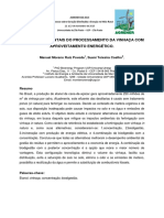 Impactos Ambientais Do Processamento Da Vinhaça Com Aproveitamento Energético