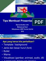 Tips Membuat Presentasi