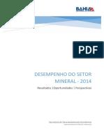 Panorama Setor Mineral 2014 SICM