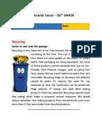 Recycling 06 TH grade