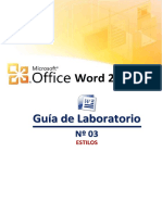 3 Laboratorio Estilos Word