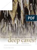 CLOTTES What did ice age people do in the deep caves.pdf