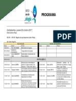 Programa i Congreso Boliviano de Ictiologia1