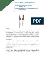 Analisis e Interpretación de Resultados ( a-b )