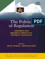 [Jacint Jordana, David Levi-Faur] the Politics of regultion