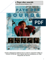 Dossier d'accompagnement (V. Gournay) - Le pays des sourds