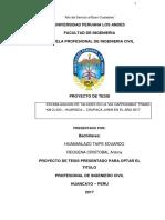 Plan de Tesis - Estabilizacion de Taludes