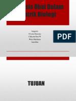 Analisis Obat Dalam Matrik Biologi