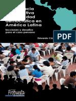 Publicación Democracia Participativa en a.latina