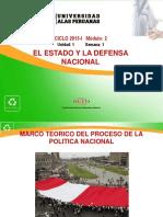 SEMANA 1-A El Estado y La Def Nac