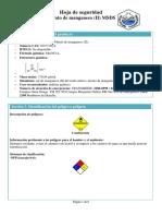Nitrato de Manganeso II