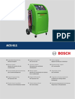 Bosch ACS 611 Operating Instructions