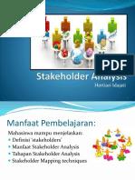 Stakeholder Analysis 23092015