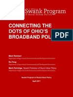 Connecting the Dots of Ohio's Broadband Policy