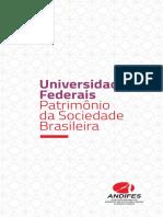 UNIVERSIDADES FEDERAIS-PATRIMÔNIO DA SOCIEDADE BRASILEIRA