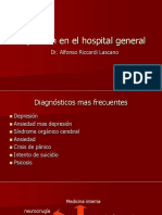 Depresión en El Hospital General Definitivo