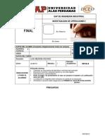 Examen Final de IO1 2014 - 2 v2