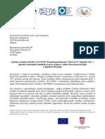 Izvještaj o Primjeni Direktive 2012