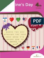Valentines Day Busy Book Workbook