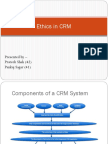 Ethics in CRM