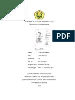 Laporan Praktikum Biologi Dasar I