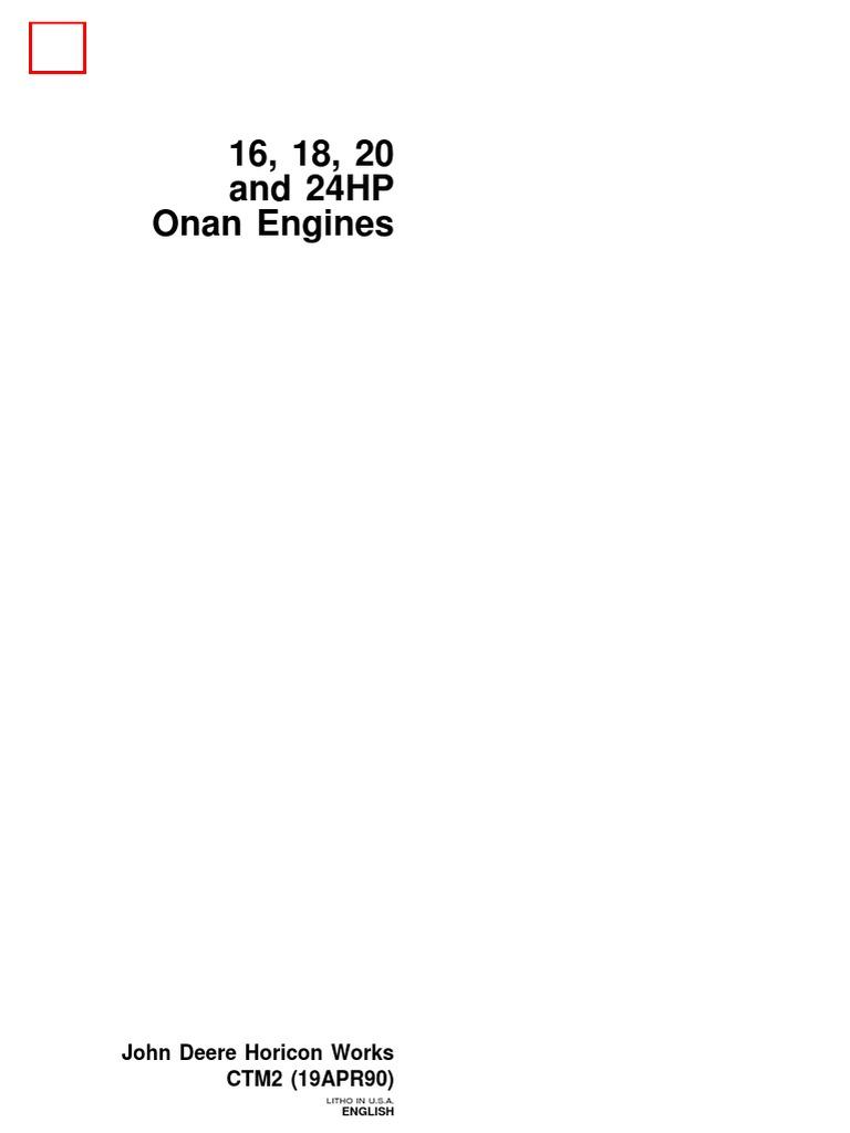 16_18_20_24_HP_Onan_Engines   Carburetor   on