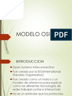 Modelo OSI y Topologia