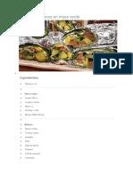 Rolls Vegetarianos en Masa Verde