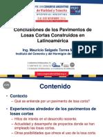 05 Conclusiones Proyectos de Losas Cortas Ing Salgado MSc