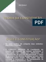REVISÃO - TEORIA DA CONSTITUIÇÃO