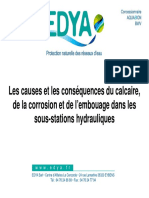 Causes Consequences Calcaire Corrosion Embouage