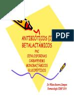 Farmacologia - Antibióticos Betalactamicos (I y II)