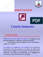 2. 1Base de Datos en Access