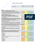 2017 pk-3 program standards rubric