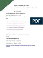 Ejemplos de Uso de While y When en Inglés