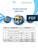 QMS-M01 Operation Manual