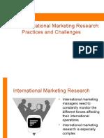 Internationalmarketing Research