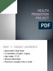health promotion projct presentation