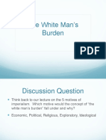 white mans burden
