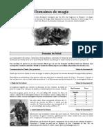 - Domaines de Magie - .pdf
