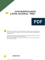 Caso Nacional Residuos Hospitalarios