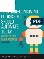 E BOOK 10 Time Consuming IT Tasks You Should Automate Today by Gabby Nizri