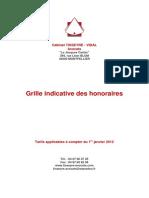 Grille Indicative Des Salaires 2012