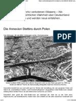Annexion Stettins