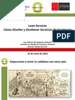 Lean Services. Gustavo Norambuena