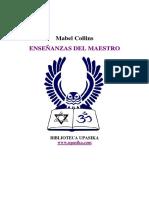 Collins, Mabel - Enseñanzas del Maestro.pdf